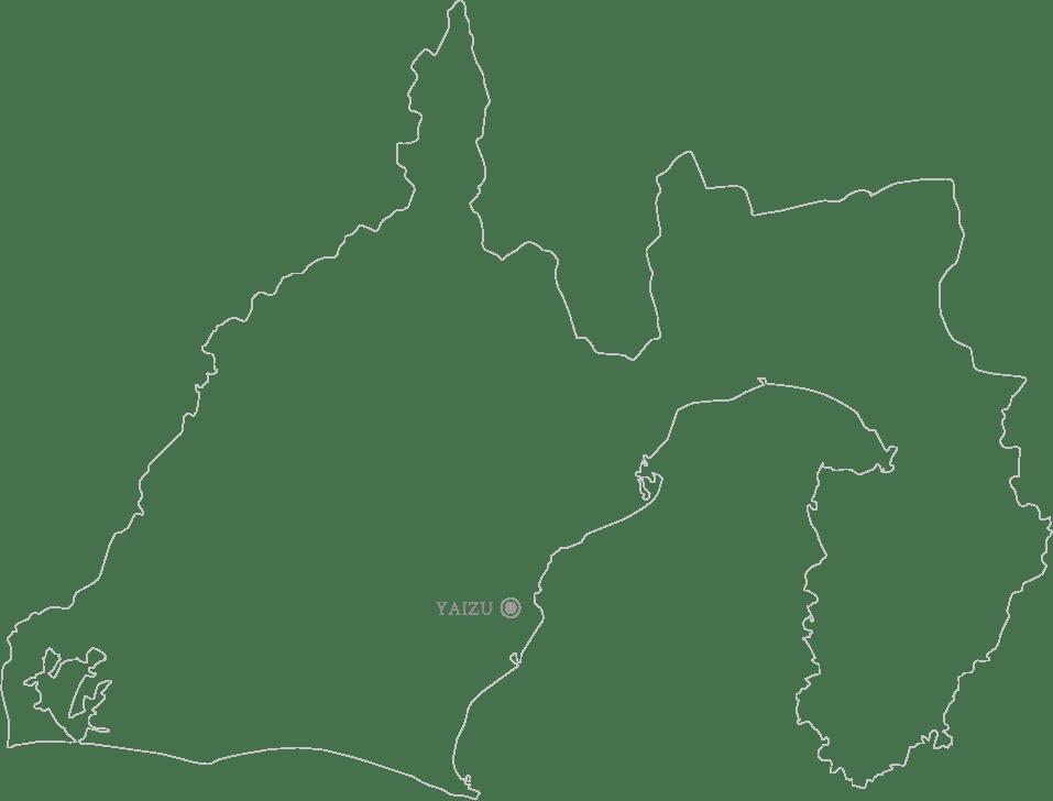 静岡県焼津市地図